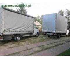 Transport mat.budowlanych , okien Polska - Austria (Wiedeń) auta do 2.5 tony ładowności